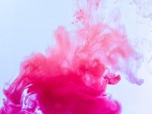 Colour smoke Stock Photography