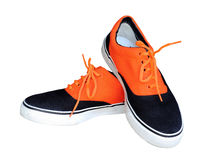 Colour sneakers Royalty Free Stock Images