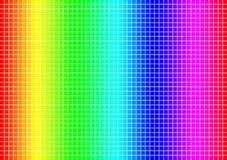 Colour spectrum grid. A grid of a colour spectrum Royalty Free Stock Photo