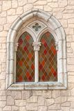 Colour stained glass window Royalty Free Stock Photo