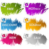 Colour stains for sale discount. Vector eps 10 royalty free illustration