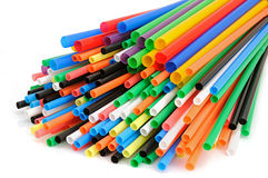 Colour straw Royalty Free Stock Photo