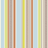 Colour stripes greek pattern | Seamless vector Stock Photography