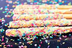 Colour sweet stick Royalty Free Stock Photography
