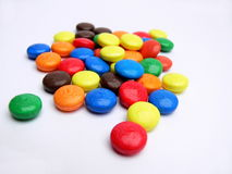 Colour sweets Stock Image