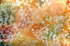 Colour texture with dabs of paints Royalty Free Stock Photo