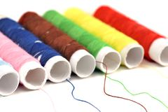 Colour threads Royalty Free Stock Image