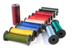 Colour threads Royalty Free Stock Photo