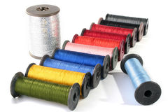 Colour threads Royalty Free Stock Photos