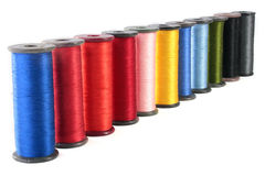 Colour threads Stock Images