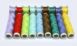 Colour threads Royalty Free Stock Images