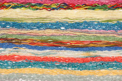 Colour threads for knitting Royalty Free Stock Image
