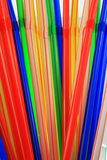 Colour tube. Tumbler glass drink royalty free stock images