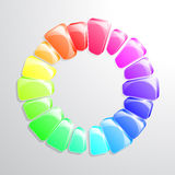 Colour Wheel Royalty Free Stock Photo