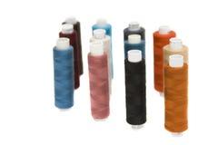 Colour yarn royalty free stock image
