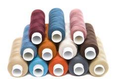 Colour yarn stock photography