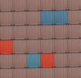 Coloured ładunków zbiorniki zdjęcie royalty free