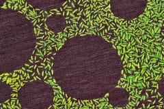 Coloured вышил ткани Стоковые Фотографии RF