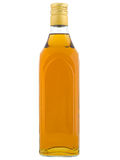 Coloured alcohol bottle Royalty Free Stock Photos