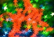 Coloured asterisks Stock Photo