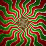 Coloured background. Background with red and green spiral Stock Photography