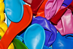 Coloured ballons. Lots of coloured ballons all together Royalty Free Stock Photos