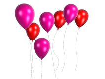 Coloured balloon Royalty Free Stock Photography