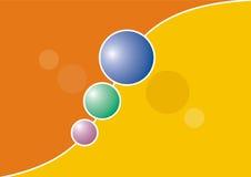 Coloured balls Stock Photos