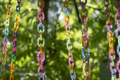 Coloured beads Stock Image