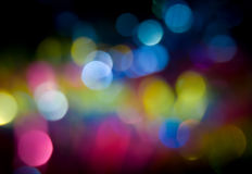 Coloured bokeh background Royalty Free Stock Photo