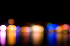 Coloured bokeh background Stock Images
