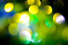 Coloured bokeh background Stock Photography