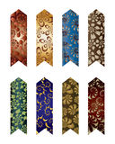 Coloured bookmarks 2 Stock Images