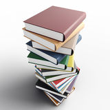 Coloured books Royalty Free Stock Photography