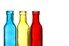 Coloured Bottles Royalty Free Stock Image