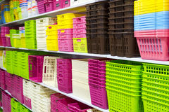 Coloured boxes Royalty Free Stock Images
