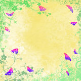 Coloured butterflies Royalty Free Stock Photo