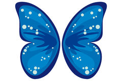 Coloured butterfly Stock Photography