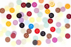 Coloured buttons Royalty Free Stock Photography