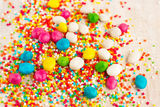 Coloured candy for decoration Royalty Free Stock Photography