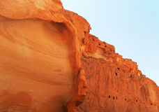 Coloured canyon. In Taba Egypt, the Sinai Peninsula. summer Royalty Free Stock Images