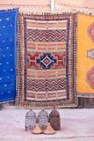 Coloured carpets Stock Photos