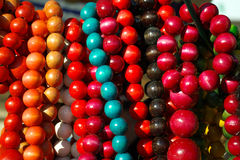 Coloured chaplets Royalty Free Stock Photos