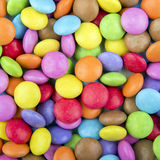 Coloured chocolate sweets Stock Photography