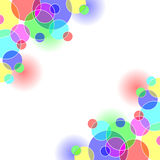 Coloured Circles Royalty Free Stock Photo