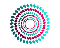 Coloured circles Royalty Free Stock Images