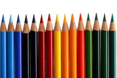 Coloured Crayon Royalty Free Stock Image