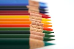 Coloured Crayon Stock Image