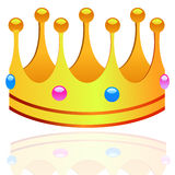 Coloured crown Royalty Free Stock Images