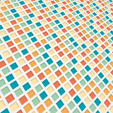 Coloured 3d mosaic background Stock Images
